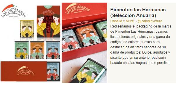 Premios Anuaria 2016 a Pimentón de la Vera Las Hermanas