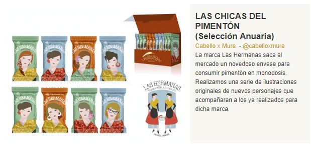 Premios Anuaria 2017 a Pimentón de la Vera Las Hermanas