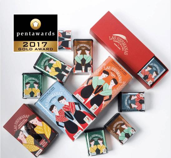 Premios Gold Pentawards a Pimentón de la Vera Las Hermanas