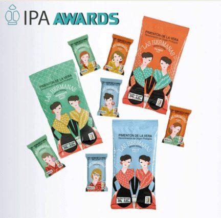 Premios IPA Award a Pimentón de la Vera Las Hermanas