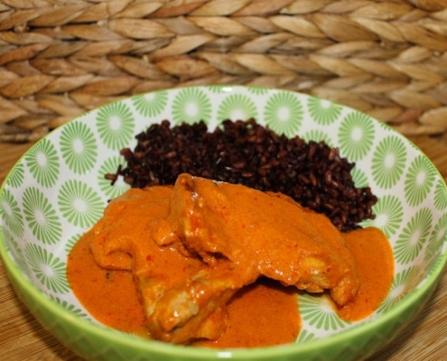 Pollo con salsa Peri Peri y Pimentón de la Vera Picante