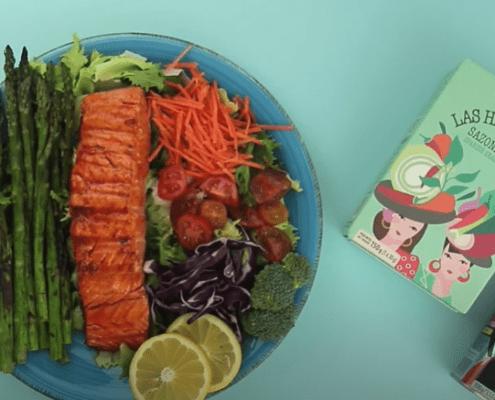 receta salmon con pimenton de la vera